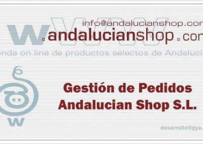 Andalucian Shop. Gestión de Pedidos