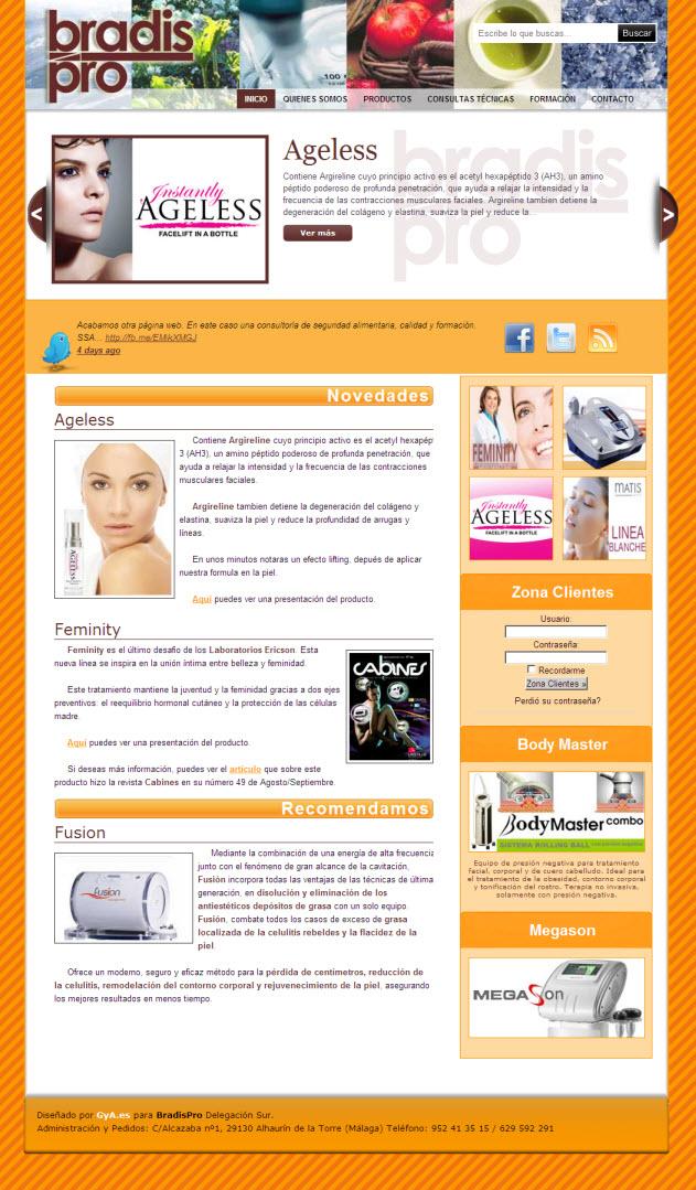 BradisPro. Maquillaje, estética y cosmética
