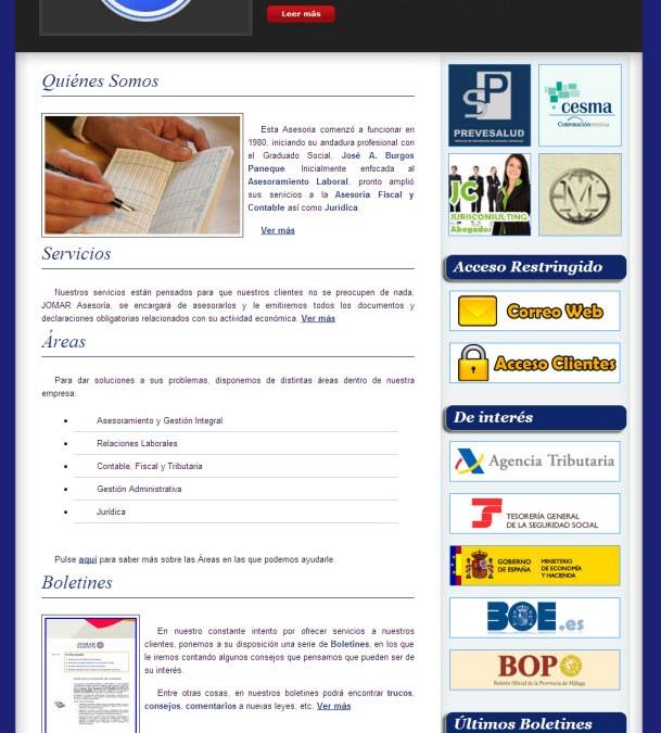 Jomar Asesoría. Laboral, fiscal, contable y jurídica