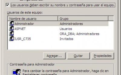 Inicio automático de usuario en Windows XP