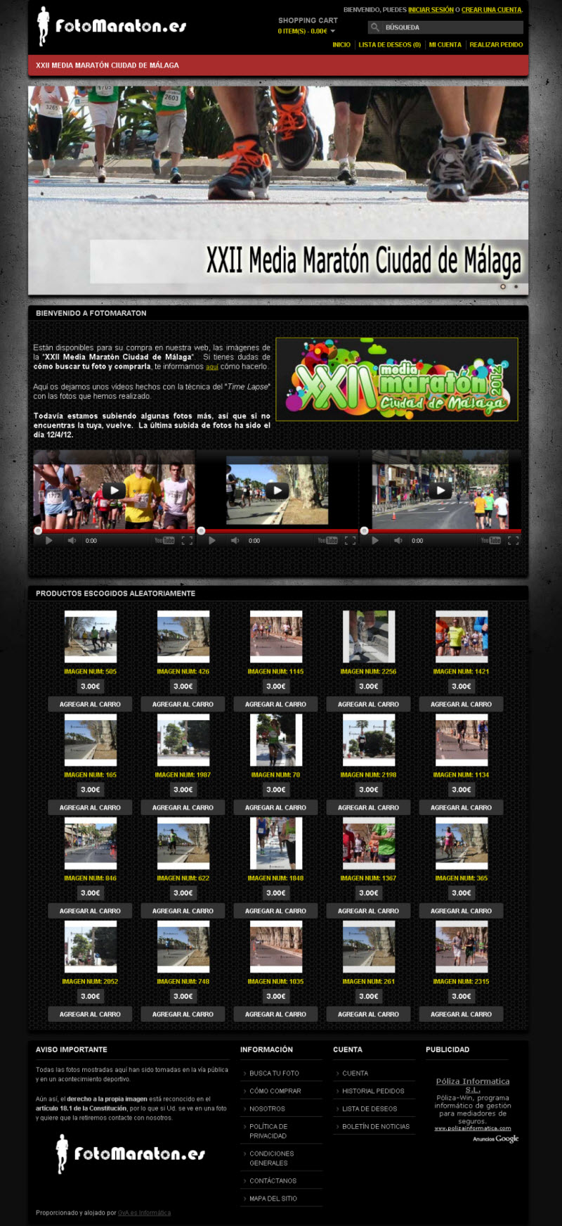 FotoMaraton.es. Fotografías deportivas