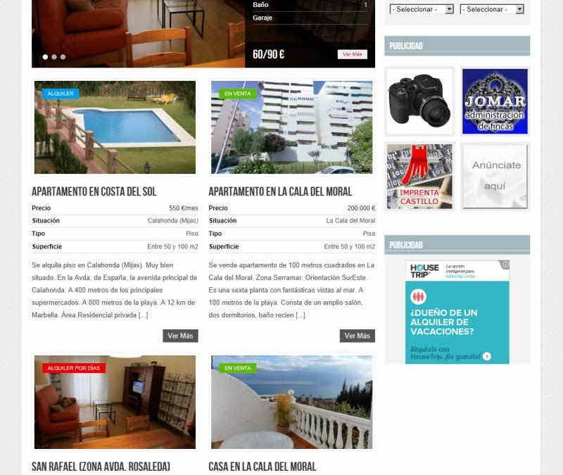 PisoEnMalaga.es.  Alquiler y venta de propiedades