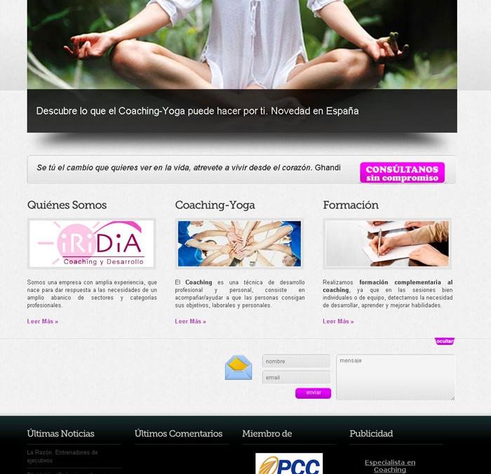 Iridia. Coaching y Desarrollo. Coaching, Yoga, formación…
