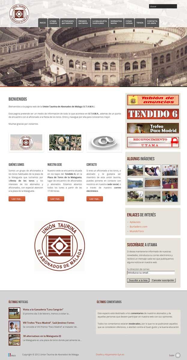 Unión Taurina de Abonados de Málaga (UTAMA)