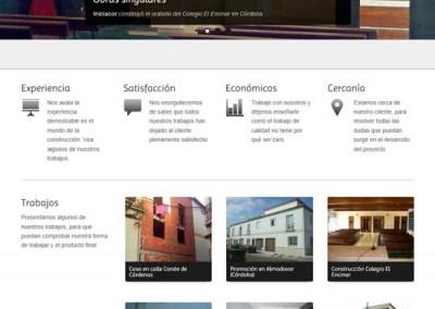Iniciacor en Córdoba. Empresa constructora