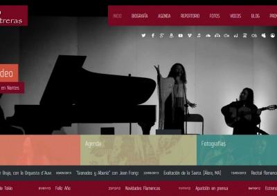 Antonia Contreras. Cantaora de Álora