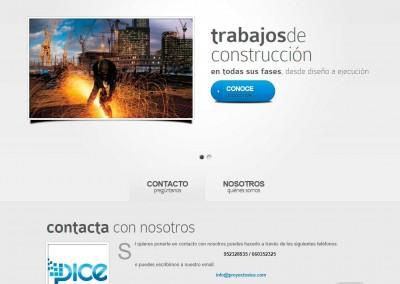 PICE. Una web para proyectos de ingeniería
