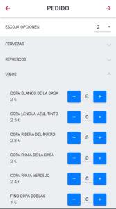 App Comandas para el coronavirus